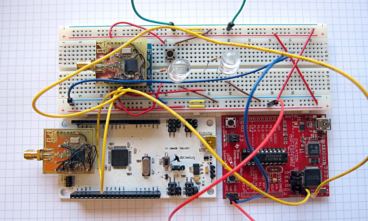CC430 prototyping
